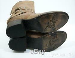 Rapide Des Navires! New Sz 9 Freebird Par Steven Drove / Bouvier Cocoa Tan Western Boots