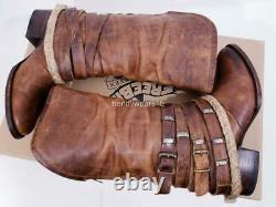 Rare Sz 9 Joanna Gaines 1st Gen Freebird Par Steven Drove /drover Tan Boots
