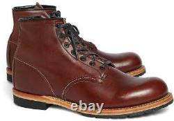 Red Wing Beckman Round Boots Taille 8 9016 Heritage Cigar Featherstone Classic