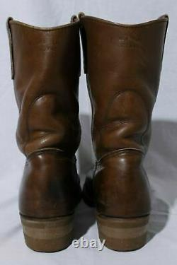 Red Wing Shoes Pecos Men's Brown Leather Western Cowboy Boots Sz 8.5d