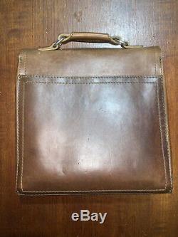 Saddleback Leather Company Indiana Satchel Tobacco New Logo 1 Épaulières