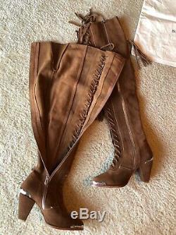 Sort Et Le Collectif Gitan MIMI Fringe Bottes Brown Taille 37