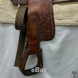 Tex Tan 15 Selle Western