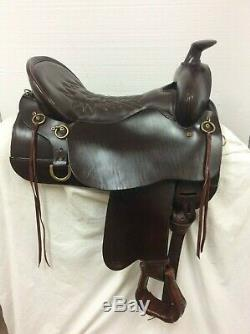 Tucker 260-720-5211-20 171/2 Occasion Western Trail Saddle Bar Complet. Soldes De Noël