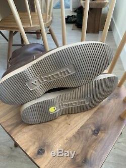Viberg Brown Tumbled Roper Cuir Boot (2050 Dernière) Taille 9