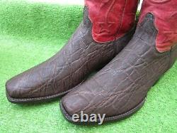 Vintage Black Jack Rough & Tough Exotic Safari Skin Rare Bottes Occidentales 12 D