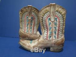 Vintage Old Gringo Yippee Ki Yay Ladies Western Cowboy Bottes