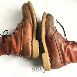 Vintage Red Wing Irish Setter Boots Taille 8d / Royaume-uni 7