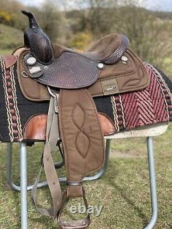 Western Saddle By Big Horn Quarter Horse Siège De 15 Pouces